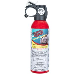 Counter Assault Bear Deterrent Spray with Belt Holster - 10.2oz