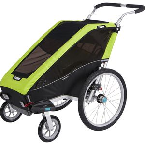 Thule Chariot Cheetah 1 with Stroller Kit