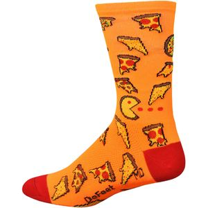 DeFeet Pizza Party Aireator Hi-Top 6in Sock