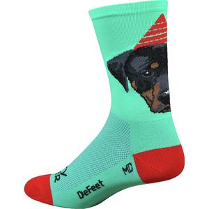 DeFeet Aireator Party Pupper 5in Sock