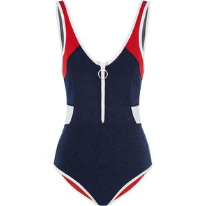 Duskii Colour Block Scoop One-Piece Swimsuit - Women's