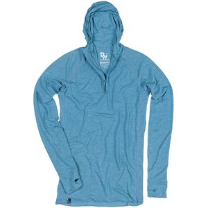 Duckworth Vapor Wool Snorkel Hooded Shirt - Men's