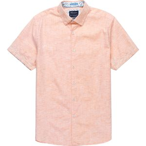Denim and Flower Solid Short-Sleeve Button-Down Shirt - Men's