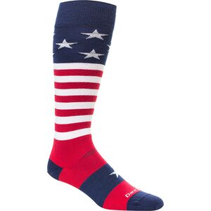 Darn Tough Merino Wool Captain America Ultra-Light Ski Socks