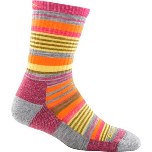 Darn Tough Merino Wool Sierra Stripe Jr. Micro Crew Sock - Girls'