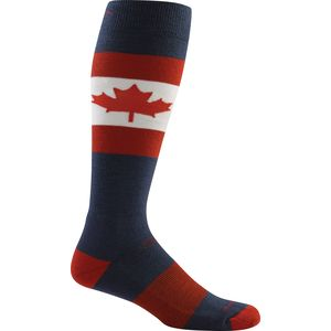 Darn Tough O Canada Over-The-Calf Ultra-Light Ski Socks - Men's