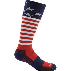 Darn Tough Captain Stripes Jr. Over-The-Calf Ultra-Light Socks - Kids'