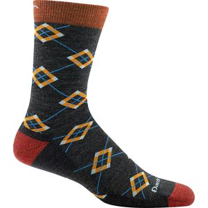 Darn Tough Argyle Light Cushion Crew Socks - Men's
