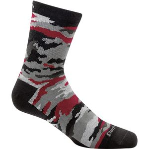 Darn Tough Camo Micro Crew Light Sock - Boys'