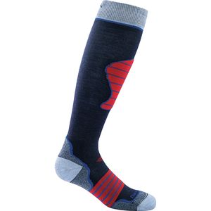 Darn Tough Merino Wool Over-The-Calf Ultra-Light Ski Sock - Kids'