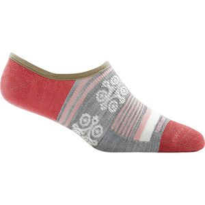Darn Tough Topless Stripe No Show Light Sock - Women's