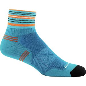 Darn Tough Vertex Stripe 1/4 Ultra-Light Sock - Men's