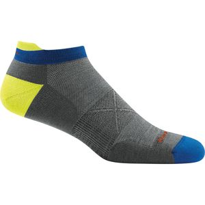 Darn Tough Vertex Stripe No Show Tab Ultra-Light Cushion Sock - Men's