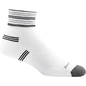 Darn Tough Vertex Stripe CoolMax 1/4 Ultra-Light Cushion Sock - Men's