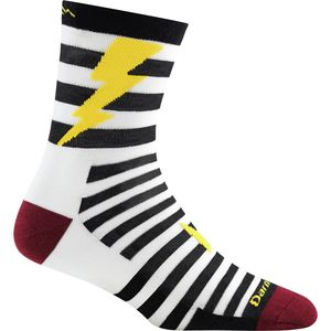 Darn Tough Lightning Micro Crew Light Sock - Boys'