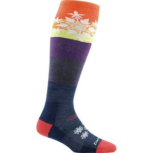 Darn Tough Snowflake Over-The-Calf Light Sock - Women's