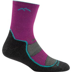 Darn Tough Light Hiker Jr Micro Crew Light Cushion Hiking Sock - Girls'