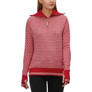 Devold Slogen Zip Neck Sweater - Women's