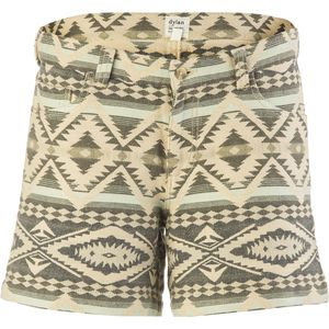 Dylan Faded Mesa Jacquard 5 Pocket Short - Women's