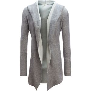 Dylan Double Face Hooded Sweater Jacket - Women's