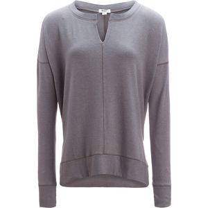 Dylan Nomad Fleece Split Seamed Crew - Women's