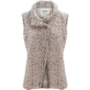 Dylan Frosty Tipped Cozy Vest - Women's