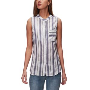 Dylan Banded Sleeveless Blouse - Women's