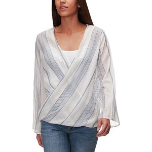 Dylan Wrap Blouse - Women's