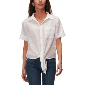 Dylan Sand Washed Camp Shirt - Women's