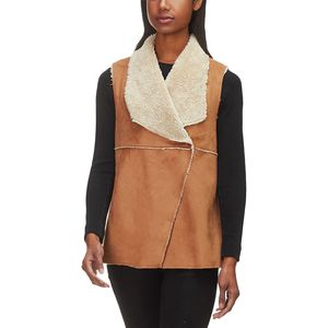 Dylan Light Vintage Washed Sherpa Madison Vest - Women's