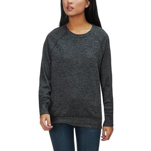 Dylan Marled Fleece Vintage Raglan Sweater - Women's