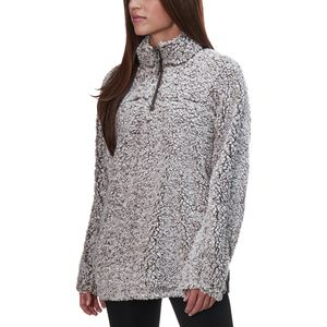 Dylan Frosty Tipped Pile Stadium Pullover - Women's