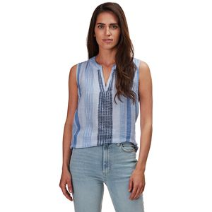 Dylan Chambray Cotton Linen Mia Stripe Tunic - Women's