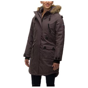 82 Degrees Fahrenheit Drawstring Waist 3/4 Parka - Women's