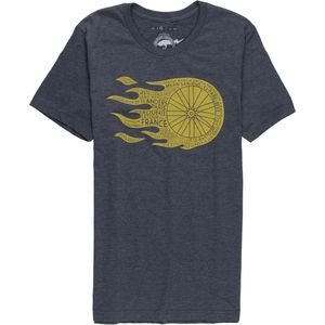 Endurance Conspiracy Flaming Wheel T-Shirt - Short-Sleeve - Men's