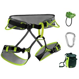 Edelrid Zack Harness Starter Set Package - Men's