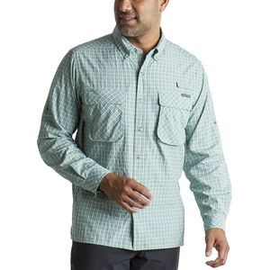 ExOfficio Air Strip Check Plaid Long-Sleeve Shirt - Men's