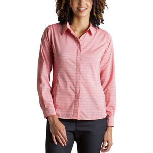 ExOfficio Ventana Stripe Long-Sleeve Shirt - Women's