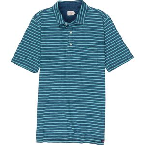 Faherty Striped Polo Shirt - Men's