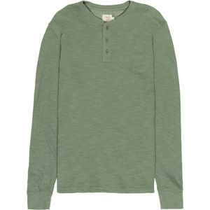 Faherty Slub Cotton Henley - Men's