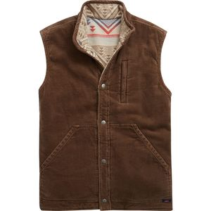 Faherty Mock Neck Reversible Vest - Men's
