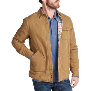 Faherty Reversible Herringbone Bondi Jacket - Men's