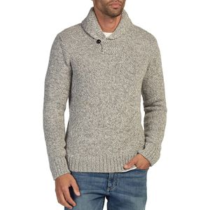 Faherty Alpaca Shawl Collar Sweater - Men's