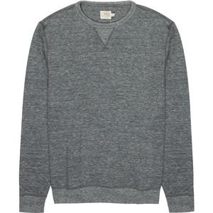Faherty Dual Knit Crew - Men's
