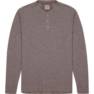 Faherty Sweater Knit Slub Cotton Henley - Men's
