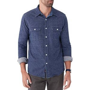 Faherty Knit Chambray Belmar Shirt - Men's