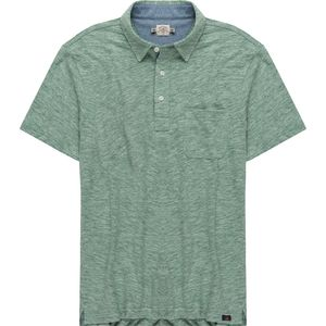 Faherty Heather Polo Shirt - Men's