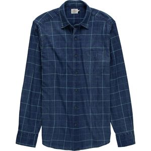 Faherty Indigo Dyed Ventura Shirt - Men's