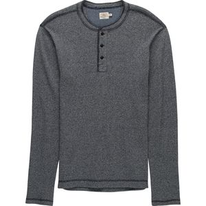 Faherty Jaspe Thermal Henley - Men's