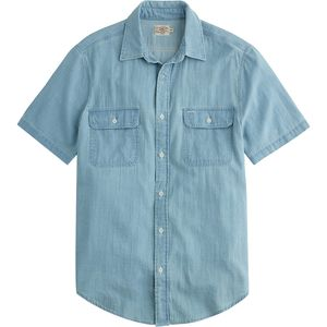 Faherty Penny Short-Sleeve Workshirt - Men's